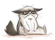Fan art Grumpy Cat