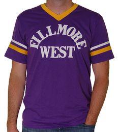 67d40157 Fillmore West Jersey Men's T-Shirt - Men's retro t-shirts from classic rock  concerts.