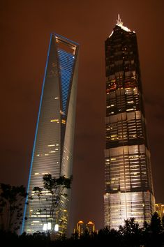 Shanghai World Financial Center & Jin Mao Tower, Shanghai, China