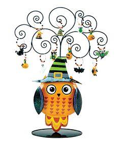 All Owls Eve Wine Charm Set