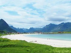 Norway's got some fine fine beaches. Ramberg in Lofoten!