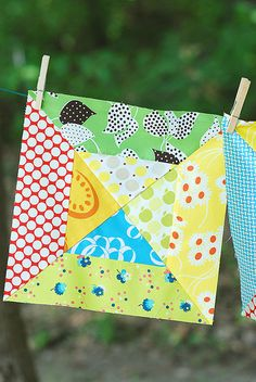 Color Crazy Quilt block   Flickr - Photo Sharing!