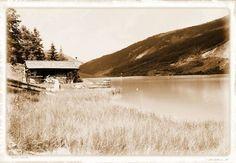 'Haus am See' von hako bei artflakes.com als Poster oder Kunstdruck $16.63