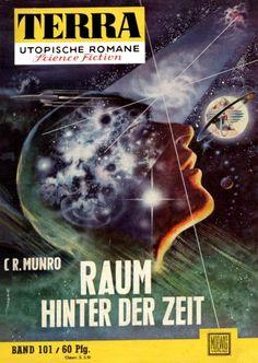 Terra SF 101 Raum hinter der Zeit   C. R. Munro  Titelbild 1. Auflage:  Johnny Bruck.#