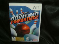 Amf #bowling #pinbusters, #nintendo wii game, trusted ebay shop,  View more on the LINK: 	http://www.zeppy.io/product/gb/2/252481662897/