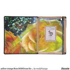 yellow orange Rose DODOcase for iPad 2/3 iPad Folio Case