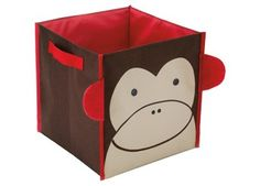 Skip Hop Zoo Little Kids & Toddler Storage Bin - Monkey Large Storage Bins, Toy Storage Boxes, Cube Storage, Plastic Storage, Storage Baskets, Cube Shelves, Toys For Girls, Kids Toys, Skip Hop Zoo