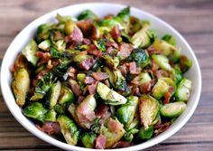 Bacon & Brussels Sprouts
