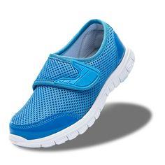 Удобная детская спортивная обувь для мальчиков сетчатая обувь весна лето  повседневная обувь для девочек дышащие сетчатые модные детские кроссовки  купить на ... 82c8d999137