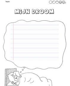 Creatief schrijven | Indeklas.jouwweb.nl Writing Activities, Activities For Kids, Easy Drawings, Diy For Kids, Writer, Letters, Teaching, Children, Quotes