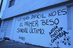 Accion poetica Cultura Inquieta17 Qoutes, Life Quotes, Words Can Hurt, Motto, It Hurts, Street Art, Spanish, Sad, Inspirational Quotes