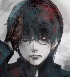 Image in anime-manga boy♣︎ collection by zillion Manga Anime, Manga Art, Anime Art, Ken Kaneki Tokyo Ghoul, Tokyo Ghoul Manga, Tokyo Ghoul Wallpapers, Tsukiyama, Foto Instagram, Dark Fantasy