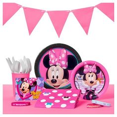 Minnie Mouse Party Supplies Collection