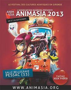 """Après """" Japon, entre traditions et modernité """", Animasia présente """" Les jeux vidéo """". Pour sa 9e édition, le festival s'articulera autour du vidéo-ludisme. Conférences, présentations de produits ou..."""