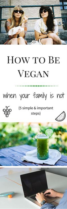 Want to go #vegan but your family isn't really supportive? Here's how to prepare & educate yourself so you can actually succeed.