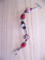 Red & Black Lampwork  $25.00