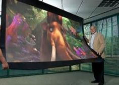 Flexible screen hire and Rental - UK Exhibition and Event Equipment Hire Flexible Tv, Flexible Screen, Flexible Display, Visual Communication Design, Tv Display, Video Wall, Home Technology, Video Home, Digital Signage