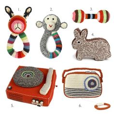crochet toys and accessories anne claire petit