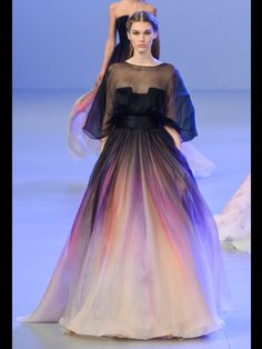 Le défilé Haute Couture Elie Saab Printemps-Eté 2014
