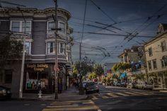 Where You Headed?  Haight Ashbury district in San Francisco, California.  Photos by David Seibold