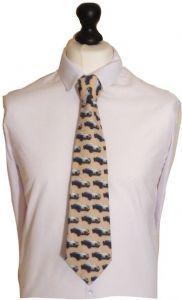 MGA Car Cotton  Tie