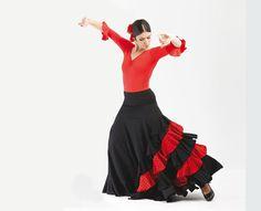 Falda baile flamenco