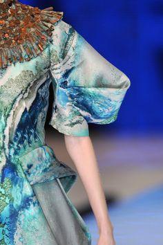 "Alexander McQueen ""Plato's Atlantis"" Spring/Summer 2010 collection / Savage Beauty exhibition / via fashioned by love British fashion blog"