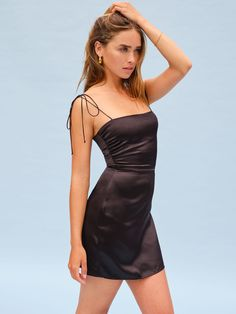 Ruched Dress, Satin Dresses, Sexy Dresses, Hoco Dresses, Summer Dresses, Girly Outfits, Stylish Outfits, Fashion Outfits, Cute Outfits