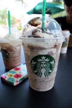 Java chip frappe...... soon the weather will be nice enough to drink this all of the time!