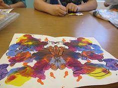 Paint Blob Creatures