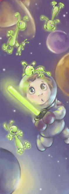 The Green- DreamsOfALostSpirit by #childrensillustrator
