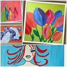 Collage van sommige van mn werken