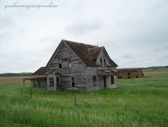 Mira Valley Nebraska -- School house frozen in time