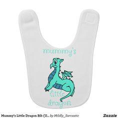 Mummy's Little Dragon Bib (Unisex)