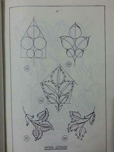 Islamic Art Pattern, Arabic Pattern, Persian Pattern, Pattern Drawing, Pattern Art, Art Nouveau Illustration, Tole Painting Patterns, Turkish Art, Zentangle Patterns