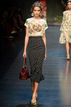 Dolce & Gabbana Spring/Summer 2014  - love everything about this
