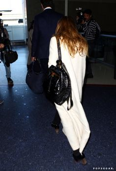 Pin for Later: Mary-Kate's Travel Outfit Has That Signature Olsen Touch