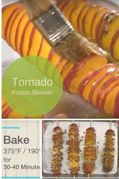 Tornado Potato Skewer Are Not Only Beautiful And Convenient, They Are DELICIOUS!
