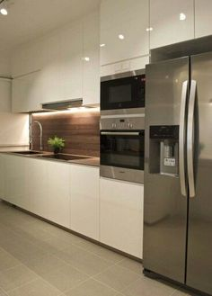 Exceptional Kitchen Room are available on our website. Have a look and you will not be sorry you did. Kitchen Room Design, Kitchen Cabinet Design, Modern Kitchen Design, Living Room Kitchen, Kitchen Layout, Home Decor Kitchen, Interior Design Kitchen, Home Kitchens, Kitchen Ideas