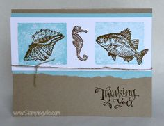 Thinking of You Card - By the Tide Stamp Set by Stampin' Up!