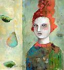 noma bliss art original abstract acrylic mixed media paintings | COLLABORATION