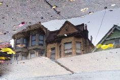 San Francisco come non l'avete mai vista: riflessa nelle pozzanghere