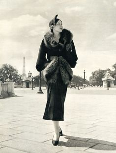 Sunday Best…Paris Fashion, c.1930's