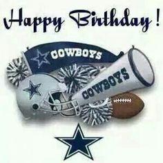 #nfl #nfl #quotes Dallas Cowboys Happy Birthday, Happy Birthday Cowboy,