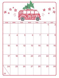 Marie Lottermoser Free Printable Calendars Holiday 2017