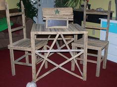 Two Old Crows Tobacco Stick Furniture