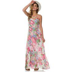 Bb Dakota Preia Summer Rain Maxi Dress ($76) ❤ liked on Polyvore