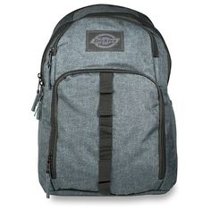 Dickies Cool Backpack - Charcoal Heather One Size Cool Backpacks ec77e76e9def4