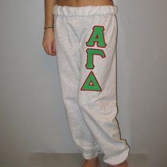 Alpha Gamma Delta Sorority Sweatpants $24.99