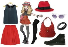 Undercover Dress-Up Lover: X/Y Pokémon trainer. This would be a very easy but awesome cosplay.